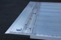 Abrollsicherung auf der Ladeplattform