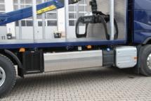 Alu-Dieseltank-Schutzblech