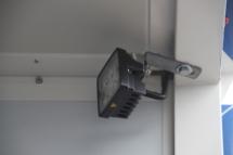 LED-Arbeitsscheinwerfer am Heck