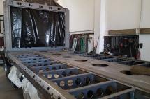 Unterbau Leichtbauweise fuer Kranfahrzeuge