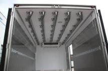 Innenausstattung - Rohrbahn mit kombiniertem Endstueck 5 x