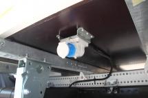 Kuema - Netzanschluss-Dose am Aufbau montiert