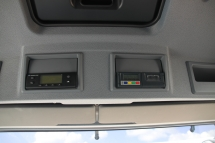 Kuema - Thermo-King Fernbedienung fuer Dieselgeraete und Temperaturschreiber im Radioschacht