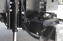 Ladebordwand-Abstuetzung - hydraulisch