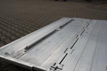Ladebordwand Zubehoer - Abrollsicherung 2-geteilt
