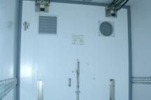 Temp-Rueckhaltesystem - Quertrennwand mit Zwischenwandluefter
